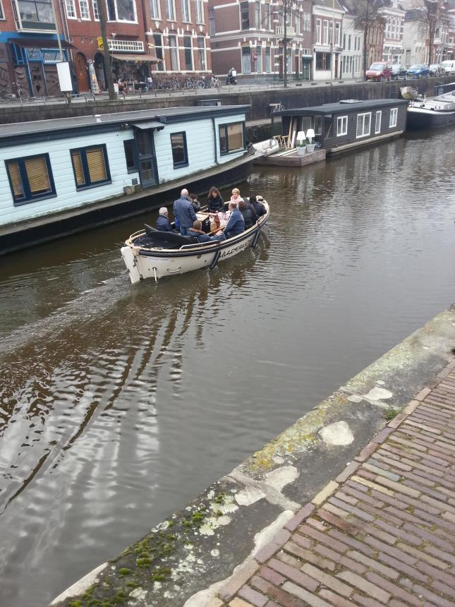 Pleasure trip in the canal